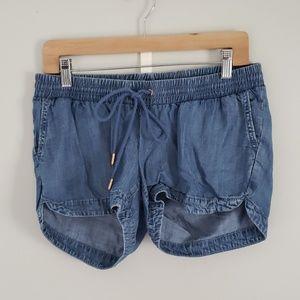 A Pea in the Pod soft Denim Shorts